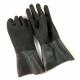 Latex Handschuhe schwarz mit rauher Oberfläche Si Tech Gr. M