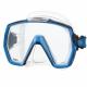 Freedom HD Tauchmaske mit großem Sichtfeld von Tusa Fishtail Blue