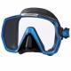Freedom HD Tauchmaske mit großem Sichtfeld von Tusa in Blau