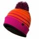 Bobble Hat wasserdicht Bommelmütze Pink Sealskinz L-XL