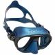 Calibro Tauchmake Apnoemaske Fog Stop Beschlagsvermeidung Cressi Blau