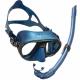Calibro Maske Corsica Schnorchel Schnorchelset Cressi Blue Nery
