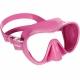 F1 Junior Tauchmaske und Schnorchelmaske Frameless Cressi Sub Smal Fit Pink