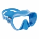 F1 Junior Tauchmaske und Schnorchelmaske Frameless Cressi Sub Small Fit in Blau