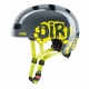 kid 3 dirtbike Kinder Fahhradhelm Uvex Grey Lime Gr. 55-58 cm