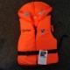 Rettungsweste Soft 100N mit Sicherheitsgurt für Kinder und Erwachsene von Allpa Gr. 50-70 kg
