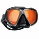 Spectra Zweiglas Tauchmaske mit Ultra Clear Gläsern von Scubapro in Schwarz verspiegelt