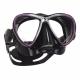 Synergy Twin Ultra Clear Tauchmaske von Scubapro in Schwarz Purple