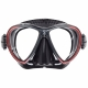 Synergy Twin Ultra Clear Tauchmaske von Scubapro in Schwarz/ Rot