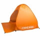Wurfzelt Strandmuschel Beach Tent Cressi Orange