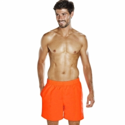 Scope 16 Zoll Herren Badeshorts Speedo Neon Orange