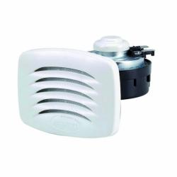 Elektrische Bootshupe 12V Einbau Lautsprechermodell in Weiss von Allpa