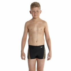 Kinder Badehosen Aquashorts Black-Global Gold Speedo