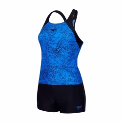 Boom Allover Tankini Blau Speedo