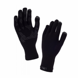 Ultra Grip Touchscreen Glove Schwarz wasserdicht winddicht von Sealskinz
