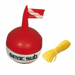 Signalboje mit Flagge und Leine von Seac Sub