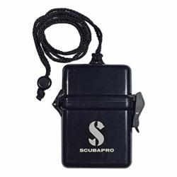 Mini Dry Box in Schwarz 15x7x100 mm von Scubapro