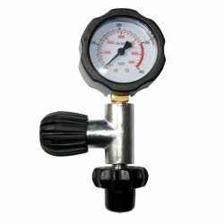 Prüfmanometer DIN bis 300bar Polaris