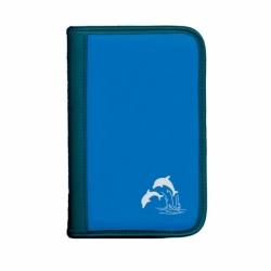 Sub Book Logbuch blau mit Tauchgangsseiten Motiv: Delfin