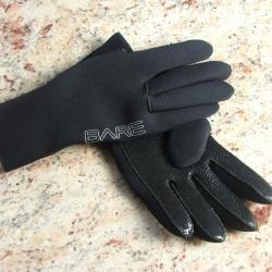 Glove Neopren Tauchhandschuhe in Schwarz von Bare Gr. XL-XXL 3mm