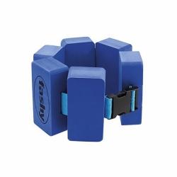 Erwachsene Schwimmgürtel in Blau Fashy 6 Pads One Size