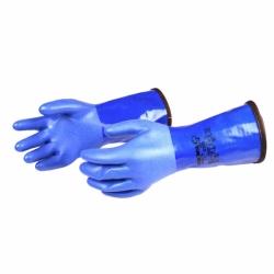 Showa Trockenhandschuhe Blau inklusive Innenhandschuhe Si Tech