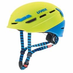 p.8000 tour Fahrrad-, Bike-, Kletter- und Skihelm lime blue Uvex 55-59cm