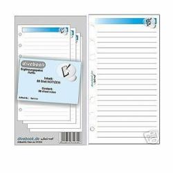 Ergänzungspaket Divebook 50 Blatt Notizen
