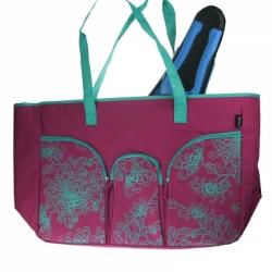 Imperia große Strandtasche Badetasche 55x39x14 cm von Fashy in Pink
