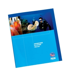 PADI AOWD Manual Adventures In Diving deutsch