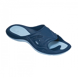 Pool Schuhe Badelatschen von Aquafeel Fashy in Blau