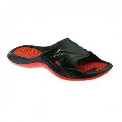 Pool Schuhe Badelatschen von Aquafeel Fashy in Rot