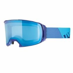 Craxx OTG Skibrille Indigo Mat Blue Uvex