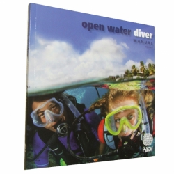 PADI OWD Manual OPEN WATER DIVER neu 2013