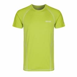 Luray kurzarm Herren T-Shirt schnelltrocknend in Lime von Regatta