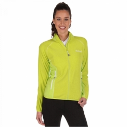 Damen Outdoor Fleece Jacke Jomor RWA246 in Lime von Regatta