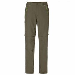 Chaska Zip-Off Damen Funktoins Outdoor Hose in Army Green