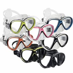 Reveal X2 Zweiglasmaske Tauchmaske optische Gläser möglich Aqualung