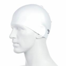 Badekappe Unisex Weiß Speedo