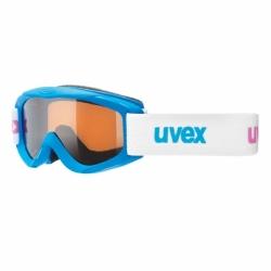 Uvex Kinder Skibrille Snowy mit supravision Technologie in Blau