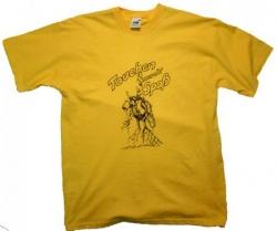 T Shirt Tauchen macht Spaß in Gelb Funhirt