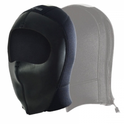 Tech Dry Hood 7mm mit Zip Kopfhaube von Bare