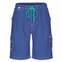 Hotham Herren Boardshort Strand und Freizeithose in Blau von Regatta