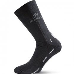 Merino Outdoor Socke schwarz Lasting WLS