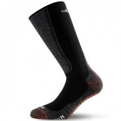 Merino Outdoor Socke schwarz Lasting WSM