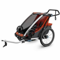 Thule Chariot Cross Fahrradanhänger Einsitzer Orange