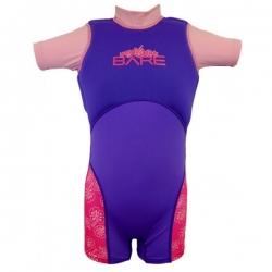 Gr. 4 Jahre Dolphin 1mm Kinderschwimmanzug von Bare in Rosa !! Vorjahresmodell !!