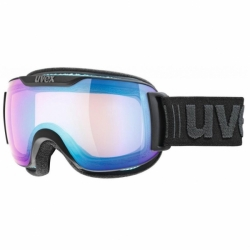 Downhill 2000 Skibrille Black Mat VFM Uvex