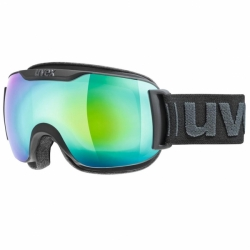 Downhill 2000 Skibrille Schwarz FM Full Mirrow Uvex