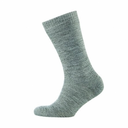 Hiking Merino Socken wasserdicht winddicht atmungsaktiv in Grau von Sealskinz
